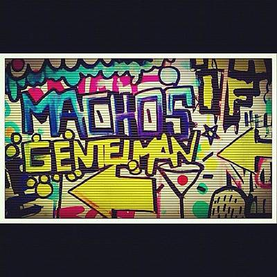 Pop Art Wall Art - Photograph - Only Boyz! 💪👬✌ #boyz #macho by Dvon Medrano