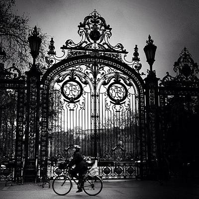 Bike Photograph - Only Lyon (4). #lyon #france by Robbert Ter Weijden