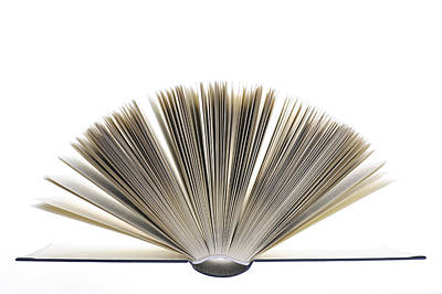Open Book Print by Frank Tschakert