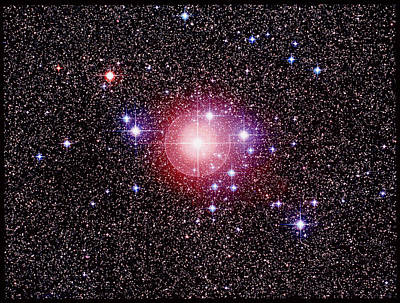 Open Star Cluster Ngc 2451 Art Print by Celestial Image Co.