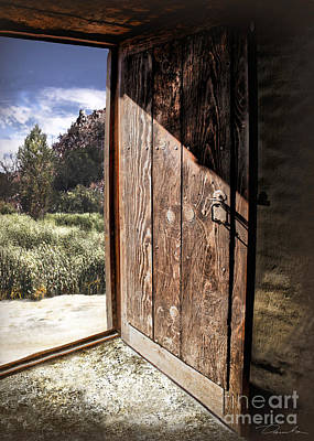Photograph - Open The Door by Danuta Bennett