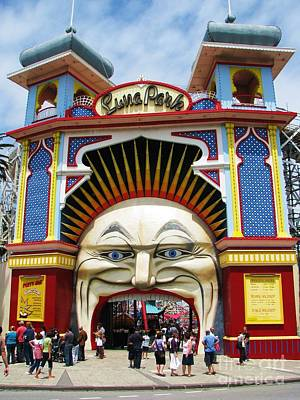 Photograph - Luna Park by Michele Penner