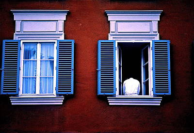 Photograph - Open Window by Gregory Merlin Brown