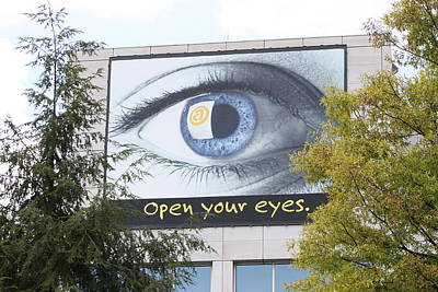 Photograph - Open Your Eyes by Lawrence Scott