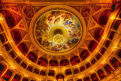 Photograph - Opera-budapest by John Galbo