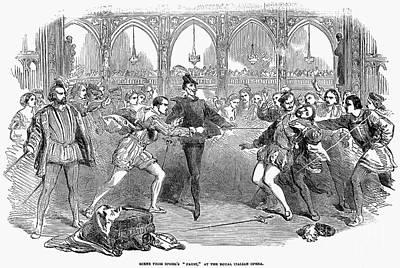 Opera: Faust, 1852 Print by Granger