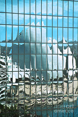 Opera House Reflection Art Print by Bob and Nancy Kendrick