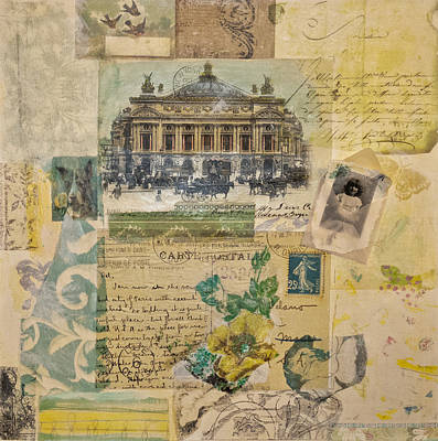 Little Girl Mixed Media - Opera House by Roberta Rose