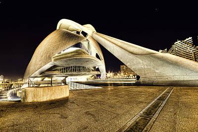 Photograph - Opera Valencia by Gabriel Calahorra