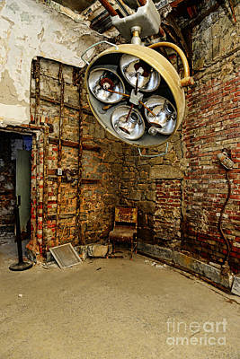 Of Ers Photograph - Operating Room - Eastern State Penitentiary by Paul Ward
