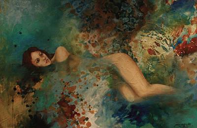 Ophelia Art Print by Gonca Yengin