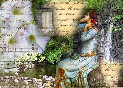 Ophelia In Nature Art Print