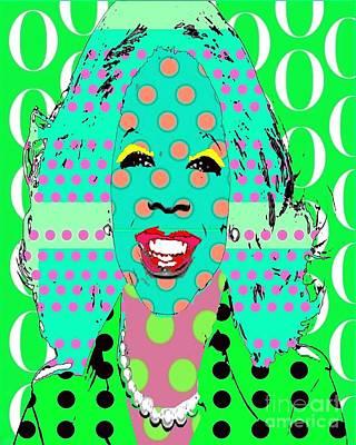 Oprah Art Print by Ricky Sencion