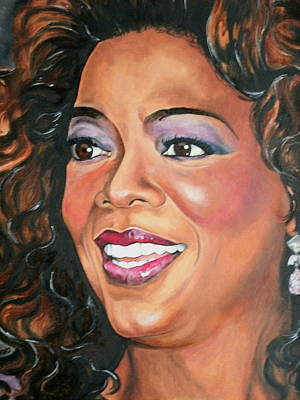 Portraits By Timothe Painting - Oprah Winfrey by Timothe Winstead