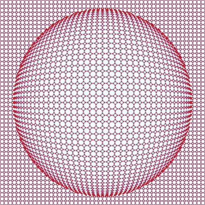 Optical Illusion Digital Art - Optical Illusion Blue And Red by Sumit Mehndiratta