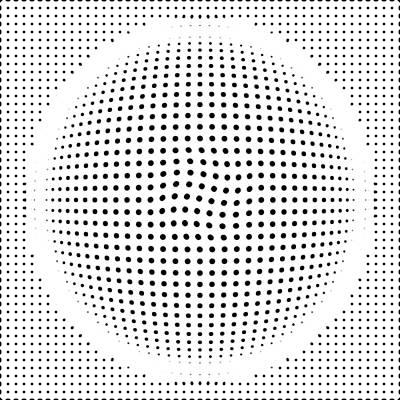 Optical Illusion Digital Art - Optical Illusion Circle by Sumit Mehndiratta