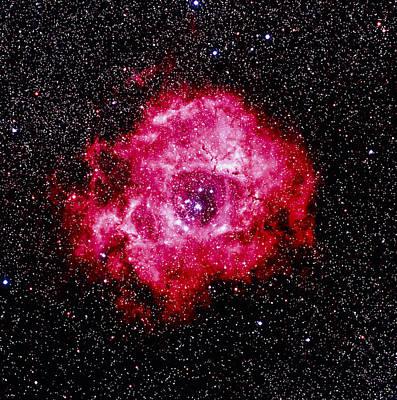 Optical Image Of The Rosette Nebula Ngc 2237-2239 Art Print