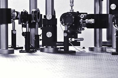 Photograph - Optical Science Equipment by Gombert, Sigrid