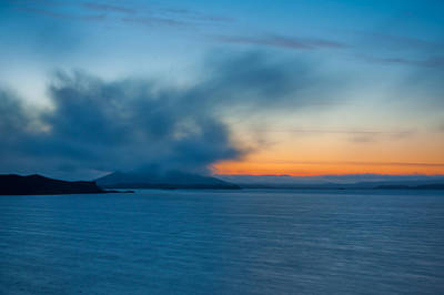 Photograph - Orange And Blue  by Anthony Doudt
