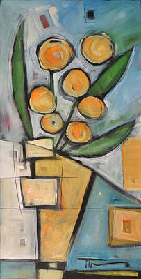 Painting - Orange Blossom Special by Tim Nyberg