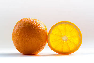 Orange Fruit Composition Art Print by by Felix Schmidt