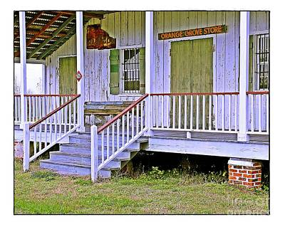 Photograph - Orange Grove Store by Judi Bagwell