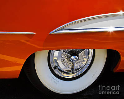 Photograph - Orange Olds by Dennis Hedberg