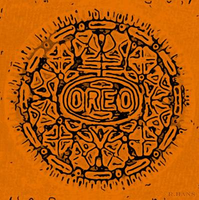 Photograph - Orange Oreo by Rob Hans