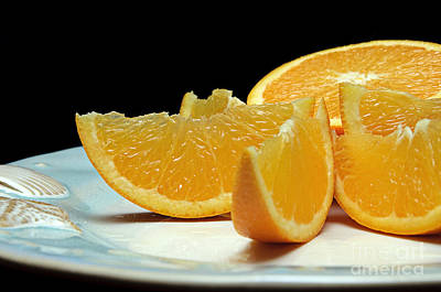 Photograph - Orange Slices by Andee Design