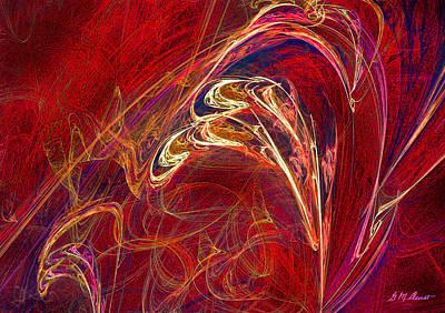 Orange Splash Original by Michael Durst