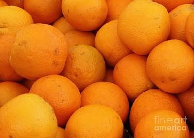 Orange Photograph - Oranges by Carol Groenen