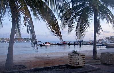 Photograph - Oranjestad Harbor - Aruba by Keith Stokes