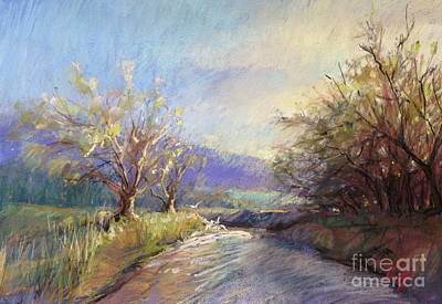 Painting - Orchard Lane by Pamela Pretty