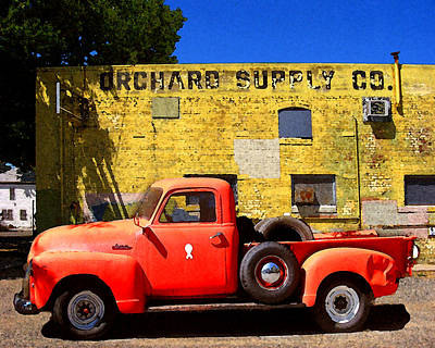 Photograph - Orchard Supply by Timothy Bulone