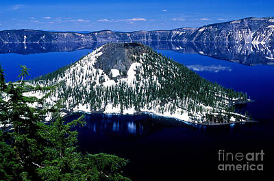 Photograph - Oregon - Crater Lake 1 by Terry Elniski