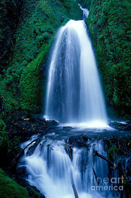 Photograph - Oregon - Wahkeena Falls by Terry Elniski