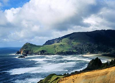 Oregon Coast Cliffs Art Print