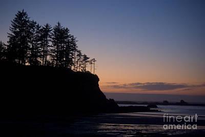 Photograph - Oregon Coast Sunset by Jim And Emily Bush