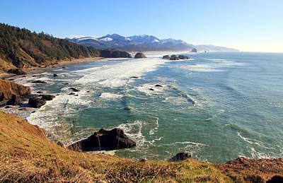 Photograph - Ecola Park Oregon Coastline by Athena Mckinzie