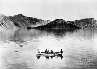 Photograph - Oregon: Crater Lake, C1912 by Granger