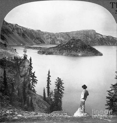 Photograph - Oregon: Crater Lake by Granger