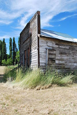 Photograph - Oregon Ghost Town by Jen Bodendorfer