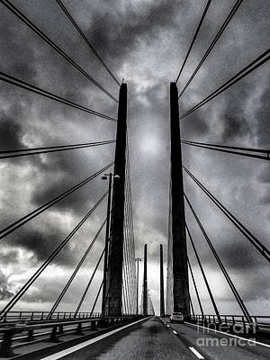 Photograph - Oresund Bridge by Michael Canning