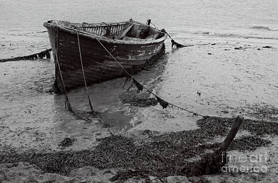 Orford Wreck Print by Darren Burroughs