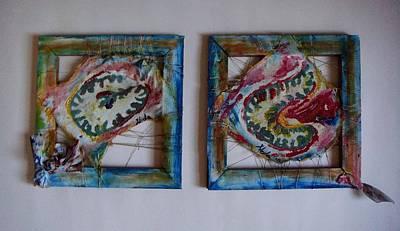 Organic Art Print by Neda Laketic