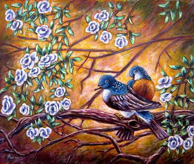Painting - Oriental Birds by Sebastian Pierre