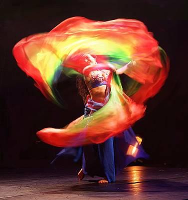 Photograph - Oriental Dancer by Benoit Beal