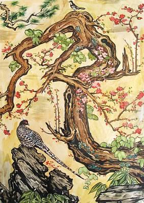 Oriental Landscape2 Art Print by Michail Noskov