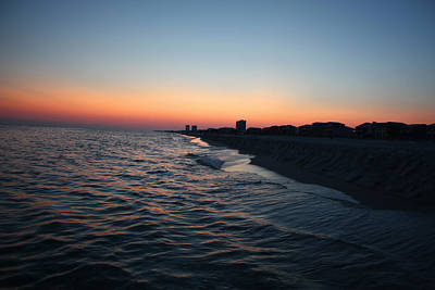Photograph - Orig. Gulf Shores Sunset by Sheila Kay McIntyre