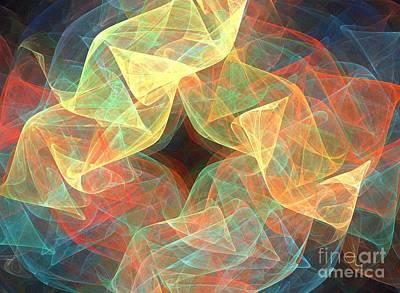 Kim Digital Art - Origami by Kim Sy Ok